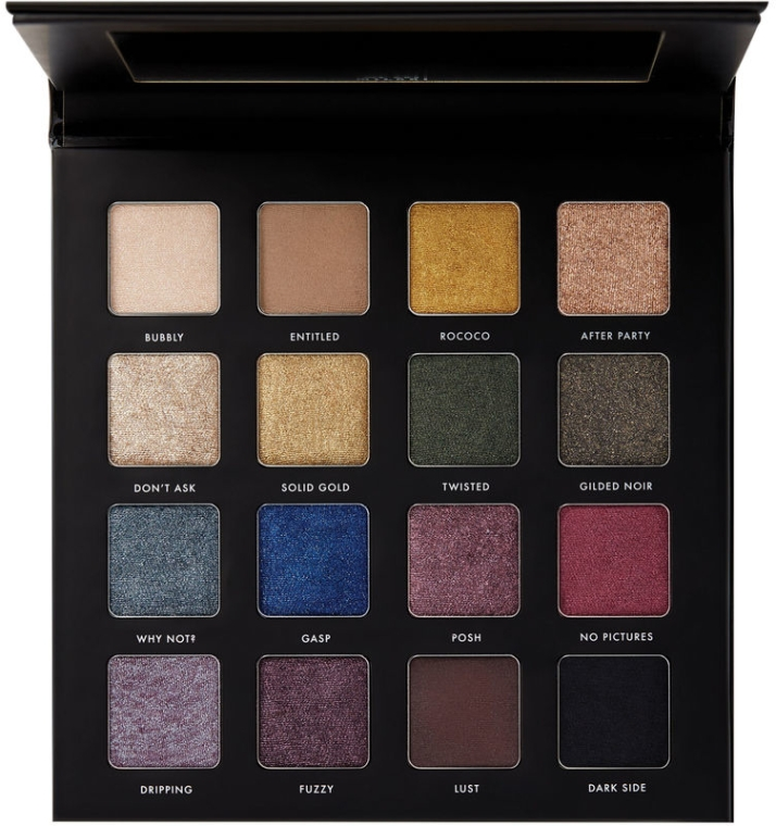 Paleta očných tieňov - Milani Gilded Noir Palette — Obrázky N1