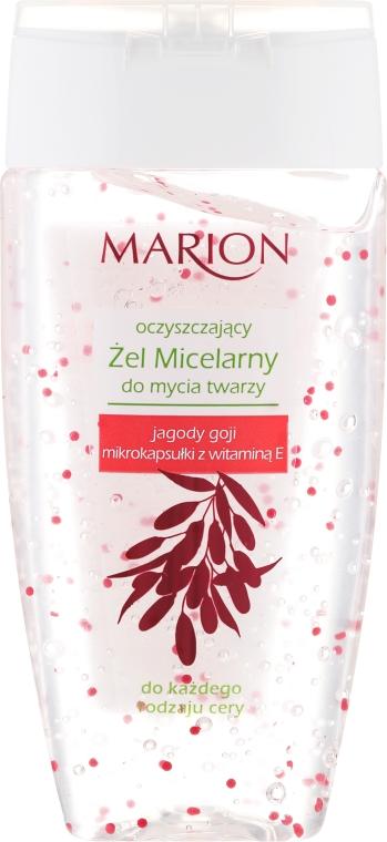 Micelárny make-up odstraňovač gél s plodmi Goji a vitamínom E - Marion Micelar Gel