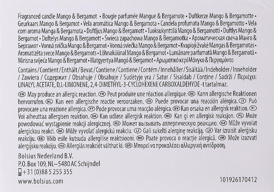 """Vonná sviečka v pohári """"Mango a Bergamot"""", 63/90 mm - Bolsius True Moods Candle — Obrázky N3"""