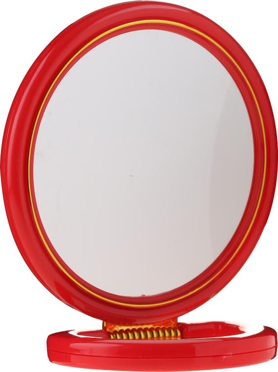 Kozmetické zrkadlo, 5046, červené - Top Choice — Obrázky N1