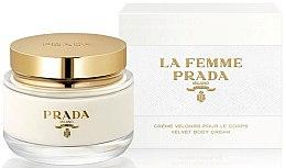 Voňavky, Parfémy, kozmetika Prada La Femme Prada Velvet Body Cream - Krém na telo