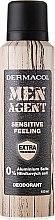 Voňavky, Parfémy, kozmetika Deodorant - Dermacol Men Agent Sensitive Feeling Deodorant