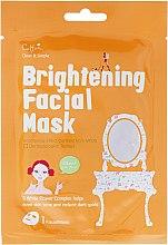 Voňavky, Parfémy, kozmetika Látková osviežujúca maska - Cettua Brightening Facial Mask