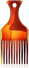 """Voňavky, Parfémy, kozmetika Hrebeň na vlasy """"Afro"""" S, 60274, jantárový - Top Choice"""