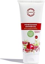 """Voňavky, Parfémy, kozmetika Sprchový gél """"Granátové jablko a aloe vera"""" - Yamuna Pomegranat A;oe Vera Extract Shower Gel"""