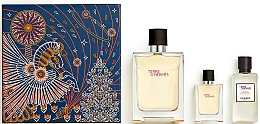 Voňavky, Parfémy, kozmetika Hermes Terre d'Hermes - Sada (edt/100ml + edt/12.5ml + ash/balm/40ml)