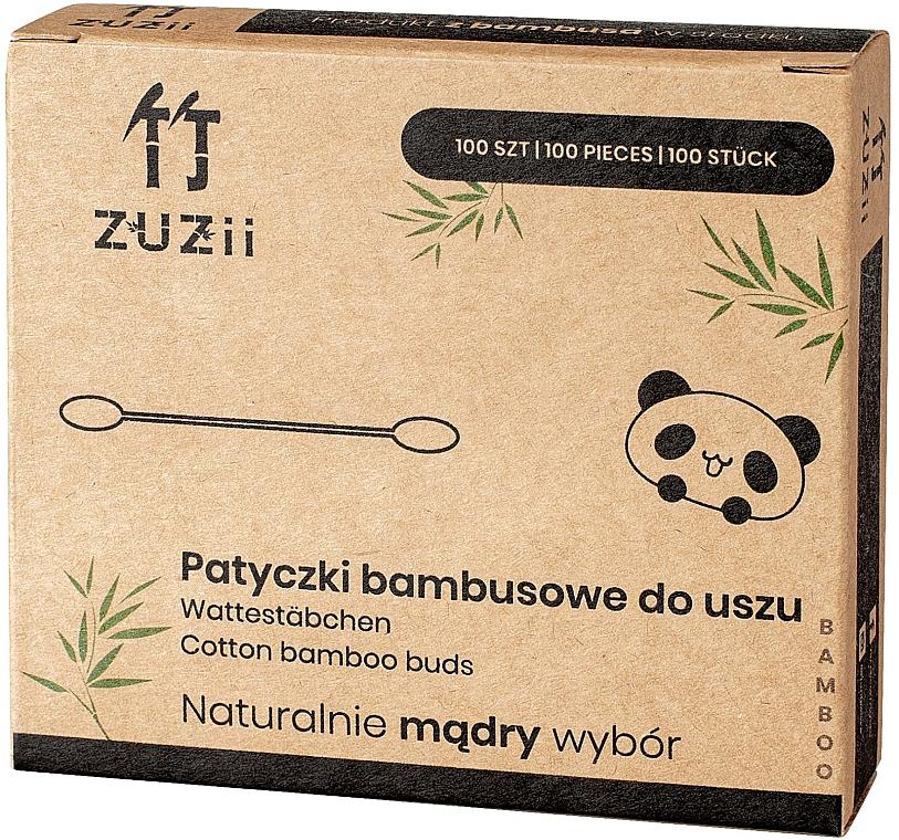 Bambusové bavlnené tyčinky - Zuzii Bamboo Cotton Buds — Obrázky N1