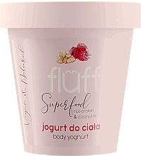 "Voňavky, Parfémy, kozmetika jogurt na telo ""Malina a mandle"" - Fluff Body Yogurt Raspberries and Almonds"