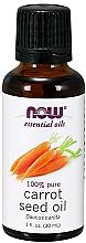 Voňavky, Parfémy, kozmetika Esenciálny olej z mrkvových semien - Now Foods Essential Oils 100% Pure Carrot Seed Oil