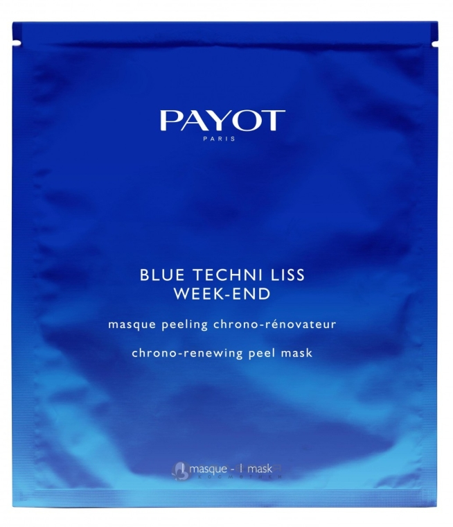 Obnovujúca peelingová maska - Payot Blue Techni Liss Week-End — Obrázky N1