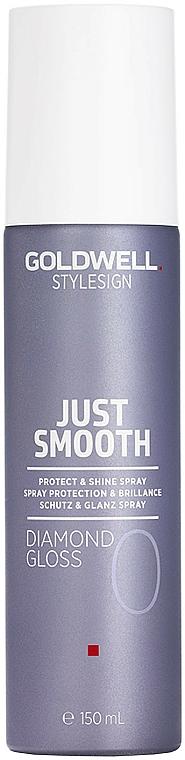 Ochranný sprej na lesk vlasov - Goldwell Style Sign Just Smooth Diamond Gloss Protect & Shine Spray
