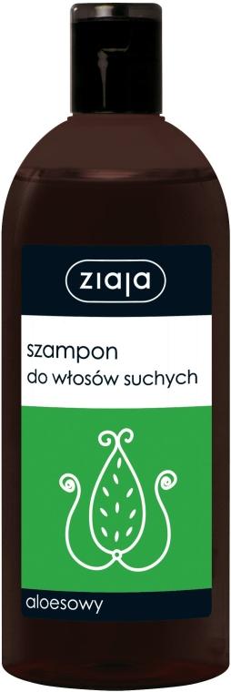 """Šampón pre suché vlasy """"Aloe"""" - Ziaja Shampoo — Obrázky N1"""