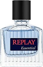 Voňavky, Parfémy, kozmetika Replay Essential For Him - Toaletná voda