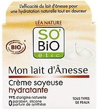 Hydratačný krém s oslím mliekom - So'Bio Etic Mon Lait d'Anesse Silky Moisturizing Cream — Obrázky N1