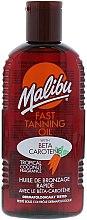 Voňavky, Parfémy, kozmetika Maska pre rýchle opaľovanie - Malibu Fast Tanning Oil with Carotene