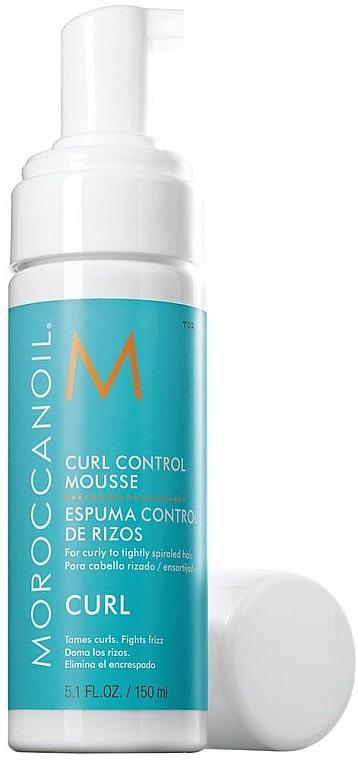 Myš na tvarovanie kučier - Moroccanoil Curl Control Mousse