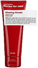 Voňavky, Parfémy, kozmetika Krém na holenie - Recipe For Men Shaving Cream