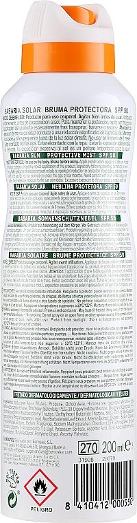 Telový sprej s SPF ochranou - Babaria Protective Mist For Sensitive Skin Spf50 — Obrázky N2
