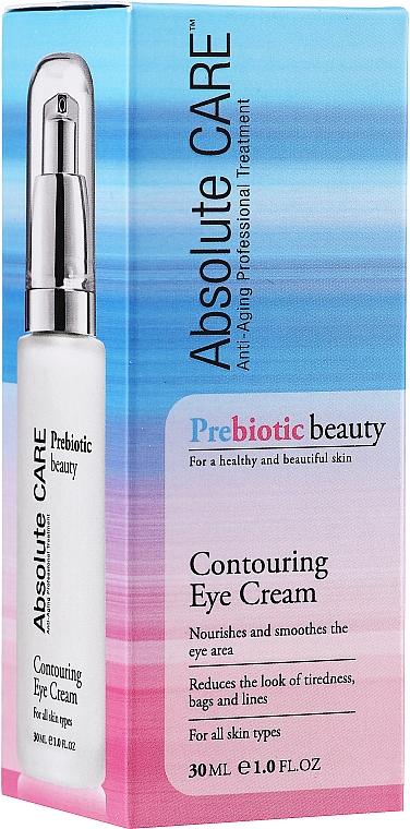 Krém na očné kontúry s probiotikami - Absolute Care Prebiotic Beauty Contouring Eye Cream