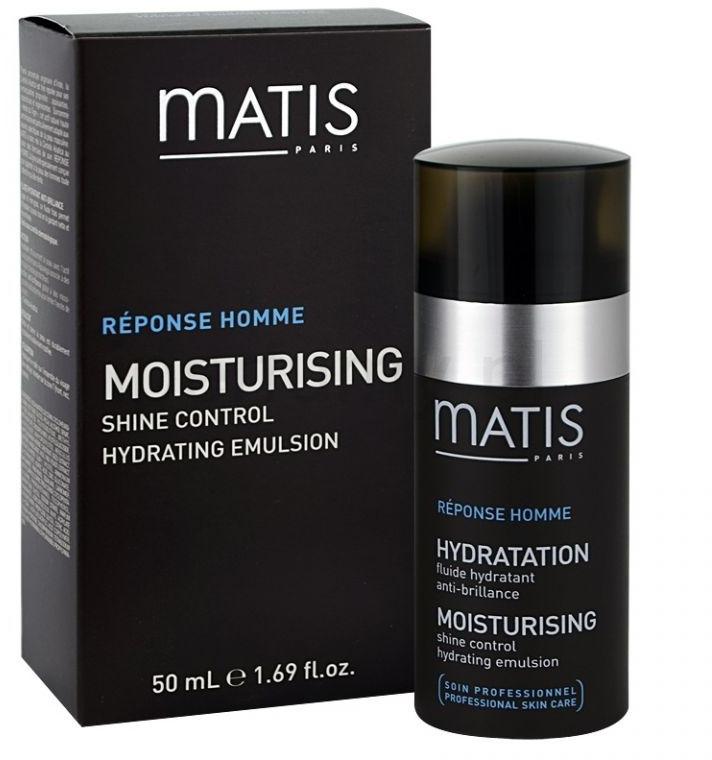 Emulzia, kontrola mastného lesku - Matis Reponse Homme Moisturising Shine Control Hydrating Emulsion — Obrázky N2
