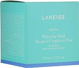 Voňavky, Parfémy, kozmetika Minerálna hlinená maska s mätovou vodou - Laneige Mini Pore Waterclay Mask
