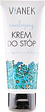 Voňavky, Parfémy, kozmetika Krém na nohy s hydratačným účinkom s harmančekovým extraktom - Vianek Foot Cream
