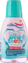 Voňavky, Parfémy, kozmetika Ústna voda - Aquafresh Big Teeth Mouthwash
