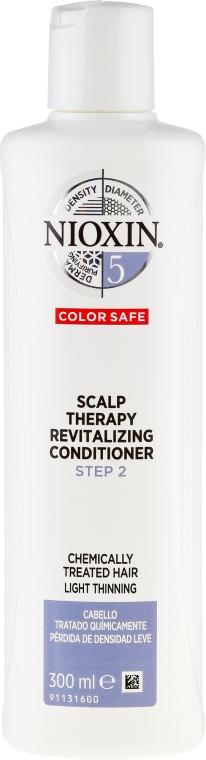 Kondicionér na farbené vlasy - Nioxin '5' Scalp Therapy Revitalising Conditioner — Obrázky N1