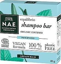 Voňavky, Parfémy, kozmetika Tuhý šampón pre mastné vlasy - N.A.E. Equilibrio Purifying Shampoo Bar