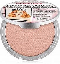Voňavky, Parfémy, kozmetika Rozjasňovač, shimmer a očné tiene - theBalm Cindy-Lou Manizer Highlighter & Shadow