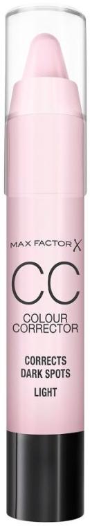 Korektor na tvár - Max Factor CC Colour Corrector Corrects Dark Spots Light — Obrázky N1