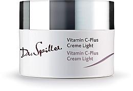 Voňavky, Parfémy, kozmetika Denný ľahký krém na tvár - Dr. Spiller Vitamin C-Plus Cream Light
