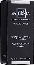 Voňavky, Parfémy, kozmetika Krém na oči a pery - Terme Di Saturnia Black Label Contour Cream Eyes And Lips