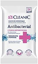 Voňavky, Parfémy, kozmetika Antibakteriálne utierky, 24 ks - Cleanic Antibacterial Wipes