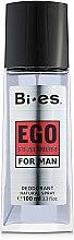 Voňavky, Parfémy, kozmetika Bi-Es Ego Platinum - Parfumovaný dezodoračný sprej
