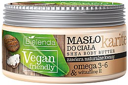 """Voňavky, Parfémy, kozmetika Telový olej """"Bambuck"""" - Bielenda Vegan Friendly Shea Body Butter"""