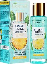 Voňavky, Parfémy, kozmetika Hydro Essence pre žiarivosť pokožky - Bielenda Fresh Juice Brightening Hydro Essence Pineapple