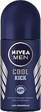 """Voňavky, Parfémy, kozmetika Guľôčkový deodorant """"Studený úder"""" - Nivea Cool Kick 48 hour"""