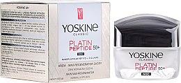 Voňavky, Parfémy, kozmetika Nočný krém pre normálnu a kombinovanú pleť - Yoskine Classic Platin Peptide Face Cream 50+