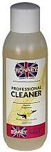 """Voňavky, Parfémy, kozmetika Odmasťovač na nechty """"Vanilka"""" - Ronney Professional Nail Cleaner Vanilia"""