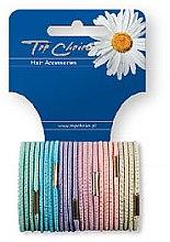 Voňavky, Parfémy, kozmetika Gumička do vlasov 24 ks, 21275 - Top Choice