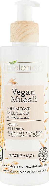 Hydratačné mlieko na umývanie - Bielenda Vegan Muesli Moisturizing Face Cleaning Milk