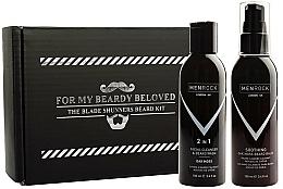 Voňavky, Parfémy, kozmetika Sada - Men Rock Oak Moss Beard Wash & Balm Set (beard wash/100ml + beard balm/100ml)