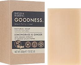Voňavky, Parfémy, kozmetika Mydlo - Baylis & Harding Goodness Sea Lemongrass & Ginger Natutal Soap