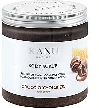 """Voňavky, Parfémy, kozmetika Scrub na telo """"Čokoláda a pomaranč"""" - Kanu NatureBody Scrub"""