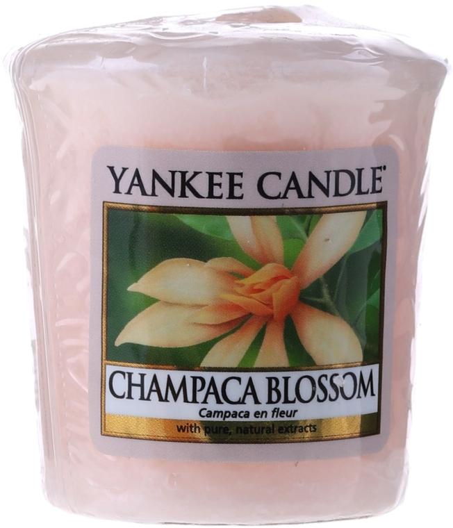 Aromatická sviečka - Yankee Candle Votive Fragrance Sampler Champaca Blossom — Obrázky N1