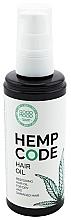 Voňavky, Parfémy, kozmetika Regeneračný konopný olej na vlasy - Good Mood Hemp Code Hair Oil