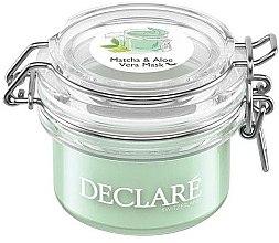 Voňavky, Parfémy, kozmetika Protistresová maska so zeleným čajom matcha a aloe vera - Declare Matcha and Aloe Vera Mask
