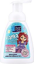 Voňavky, Parfémy, kozmetika Pena na intímnu hygienu pre deti, princezná 2 na modrom pozadí - Skarb Matki Intimate Hygiene Foam For Children