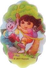 """Voňavky, Parfémy, kozmetika Detská špongia """"Dora"""", 169-6 - Suavipiel Dora Bath Sponge"""